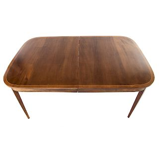 Potthast Federal Style Mahogany Dining Table By Alex Cooper Auctioneers |  Bidsquare