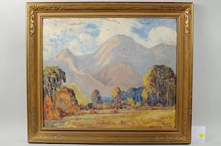 "C. Harry Allis ""Landscape"" O/B"