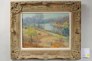 """Frank Moser """"Pocantico Lake"""", O/B"""