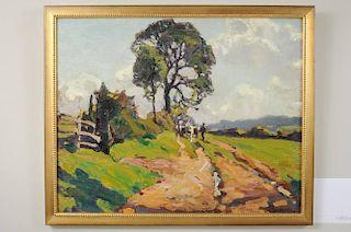 "James Edward Duggins ""The Cart Road"" O/P"