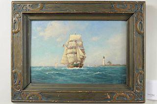 "C. Myron Clark ""Nova Scotia Brigantine"" O/B"