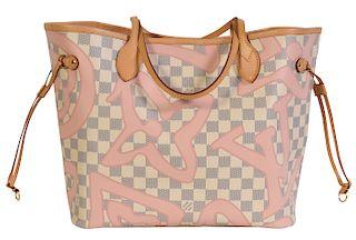 a41f0febfab3 Louis Vuitton Damier Azur Limited Ed. Tote