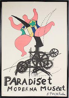 Niki de Saint Phalle & Jean Tinguely Lithograph