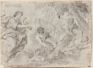 Italian School, 17th/18th Century  Diana Clipping Cupid's Wings