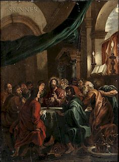 Adrianus van Kilsdonk (Dutch, b. 1754)  The Last Supper