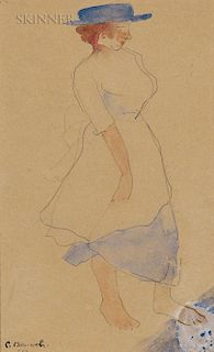 Charles Demuth (American, 1883-1935)  Blue Hat