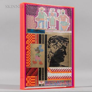 Eduardo Paolozzi (Scottish, 1924-2005)  Moonstrips Empire News Volume 1