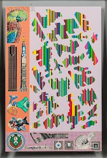 Eduardo Paolozzi (Scottish, 1924-2005)  Human Fate and World Powers