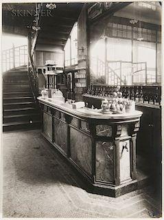 Eugène Atget (French, 1857-1927)  Bar de Cabaret, Paris