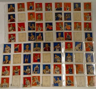 1948 COMPLETE SET OF BOWMAN BASKET BALL CARDS