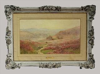 """O/BD """"THE VALLEY IN BLOOM"""" SGND E. PAIL"""