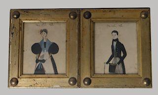 PR OF FOLK ART POCHIOR PORTRAITS / PAPER