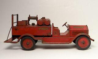 "STURDITOY FIRE TRUCK ""PUMPER #7"" AMERI. LA FRANCE"