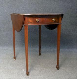 GEO III MAHOGANY PEMBROKE TABLE C.1790