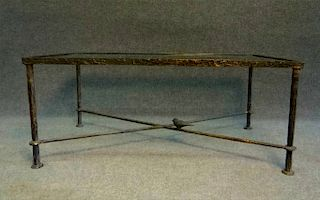 COFFEE TABLE AFTER DIEGO GIACOMETTI, BRONZE