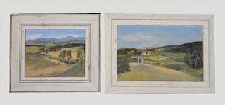 2 LOCAL LANDSCAPES BY DORETHEA KELLY MARTIN