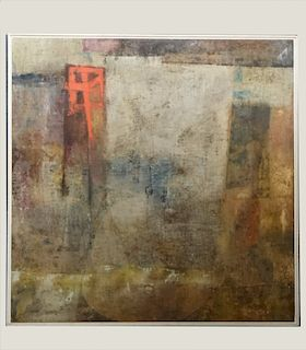 """O/C STANLEY BATE """"CULLERA"""" ABSTRACT WORK"""