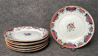 7 - 18THC. CHINESE EXPPORT PORCELAIN DISHES