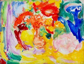 * Hans Hofmann, (American/German, 1880-1966), Light Yellow Landscape, 1937