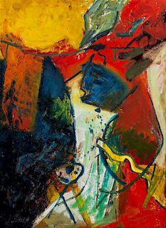 * Paul Burlin, (American, 1886-1969), Untitled