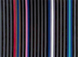 Gene Davis, (American, 1920-1985), Black Jack, 1980
