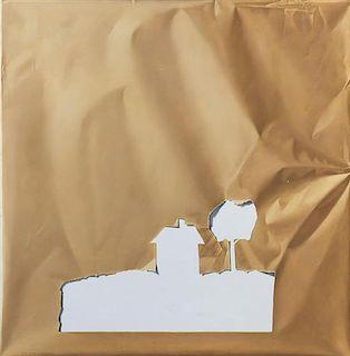 Yrjo Edelmann, (Swedish, 1941-2016), Cut-Out Landscape, 1979