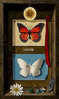 * Werner Wildner, (American, 1925-2004), Monarch, 1969