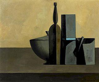 * Duillo Barnabe, (Italian, 1914-1961), Nature Morte, 1958
