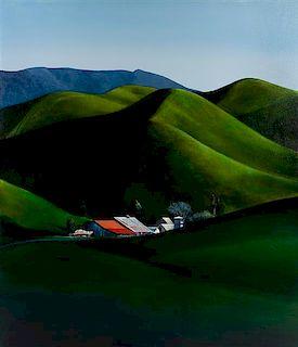 Michael Gregory, (American, b. 1955), Mint Farm, 2015