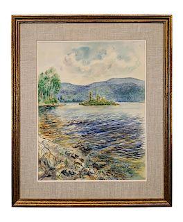 George Grosz Lake Scene