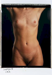 Chuck Close, (American, b. 1940), Torso 11, 1999 (diptych)