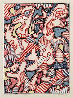 Jean Dubuffet, (French, 1901-1985), Affairements, 1964
