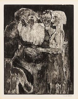 * Emil Nolde, (German, 1867-1956), Wikinger (Vikings), 1922