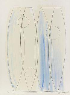 * Barbara Hepworth, (British, 1903-1975), December Forms, 1970