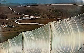Christo and Jeanne-Claude, (American, b. 1935), Running Fence and Valley Curtain