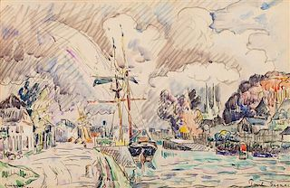 Paul Signac, (French, 1863–1935), Quimper, 1922