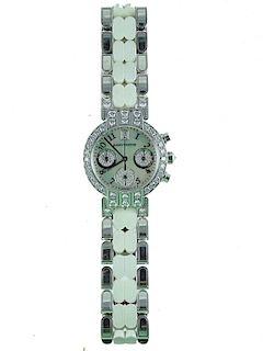 Harry Winston 18K White Gold Diamond Ladies Watch