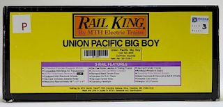 Rail King Union Pacific Big Boy O Gauge Locomotive