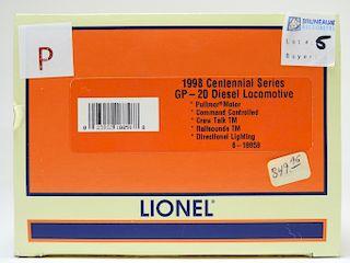 Lionel 1998 Centennial GP-20 Diesel O Locomotive