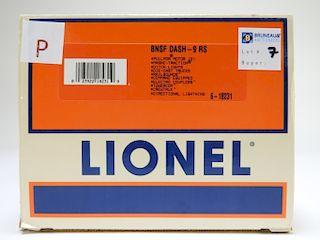 Lionel BNSF Dash-9 RS Electric Model O Gauge Train