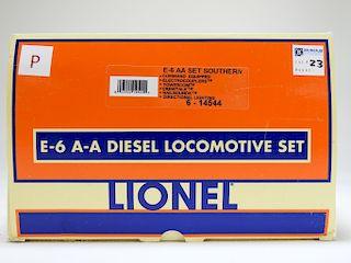 Lionel E-6 AA Southern Diesel Locomotive Train Set