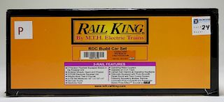 Rail King Canadian Pacific RDC Budd Car O Train