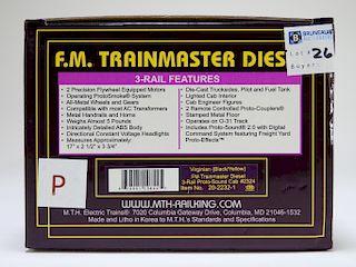 MTH Virginian FM Trainmaster Diesel Engine Train