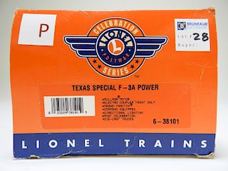 Lionel Texas Special F-3A Power Engine O Train