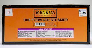 Rail King Southern Pacific Cabforward Steam Train