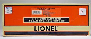 Lionel Long Island RR 280 Consolidation Locomotive