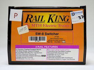 Rail King CP Rail SW-8 Switcher O Gauge Train