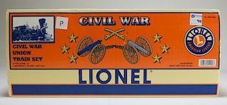 Lionel Civil War Uniot O Gauge Model Train Set