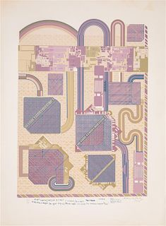 Eduardo Paolozzi, (Scottish, 1924-2005), Turkis the Musik, 1974