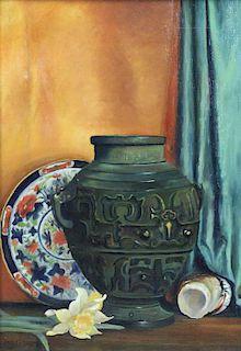HORTON, William. Oil on Canvas. Still Life, 1899.